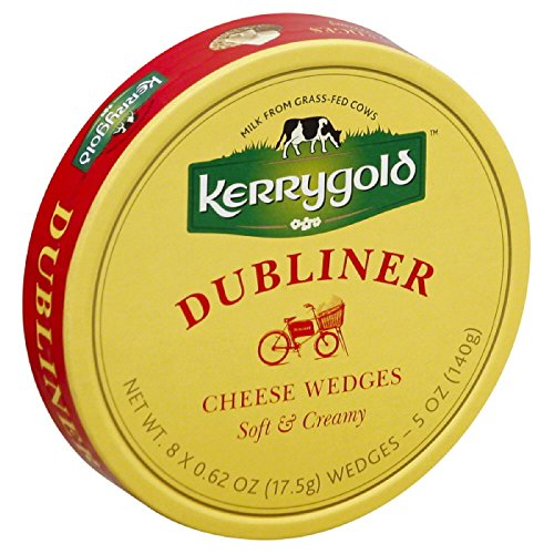 Kerrygold Dubliner Soft Cheese Wedges, 5 Ounce (Pack of 12) (Kerrygold Dubliner Cheese compare prices)