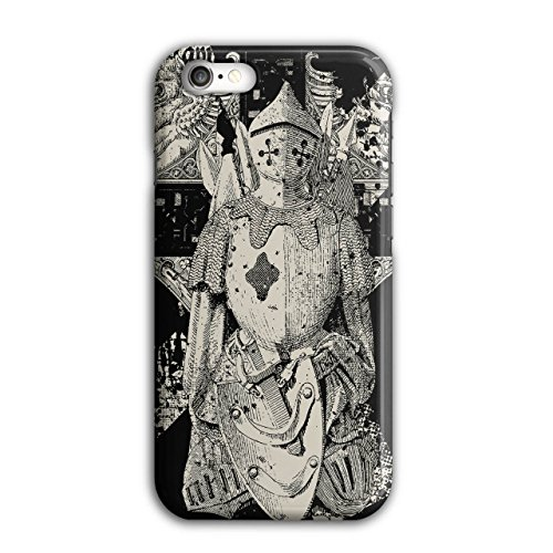 Knight Warrior Case for iPhone, 7 Medieval Non-Slip Cover - Slim Fit, Comfortable Grip, Protective Case by Wellcoda]()