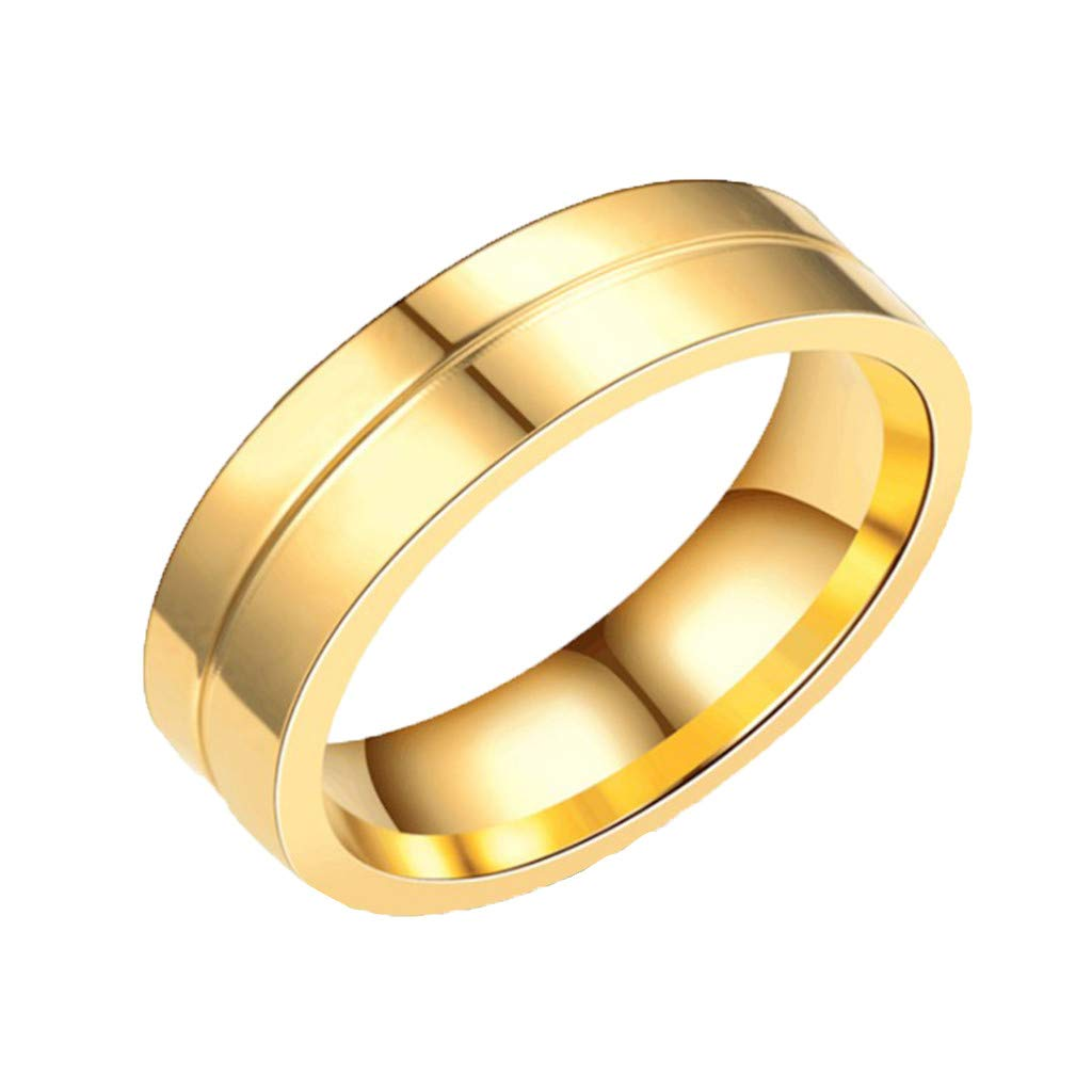 ❤❤Ratoop❤❤Stylish and Simple New Titanium Steel Couple Ring Jewelry