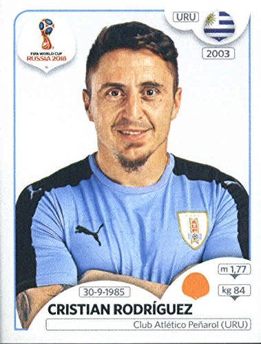 2018 Panini FIFA World Cup Stickers #106 Cristian Rodriguez Uruguay by Panini World Cup Stickers