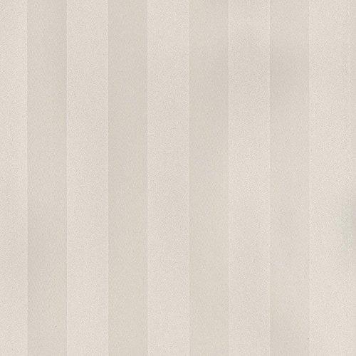 Norwall SL27510 Large Scale Stripe Wallpaper, Cream (Large Scale Stripe Wallpaper)