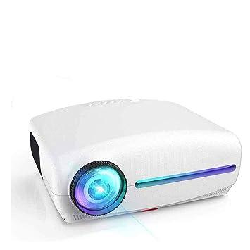 KJRJY Proyector LED 1080P proyector de vídeo (1920x1080), 8500 ...