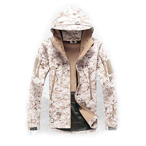 Skin Softshell V5 Military Tactical Jacket Men Waterproof Coat Camouflage Hooded Army Camo Clothing deser