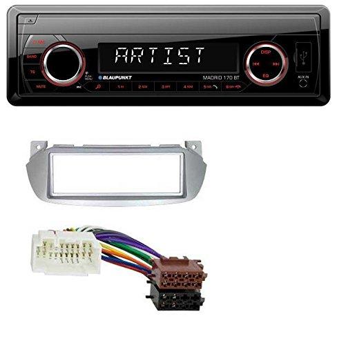 caraudio24 Blaupunkt Madrid 170 BT MP3 USB Aux Bluetooth SD Autoradio fü r Nissan Pixo Suzuki Alto (ab 2009)