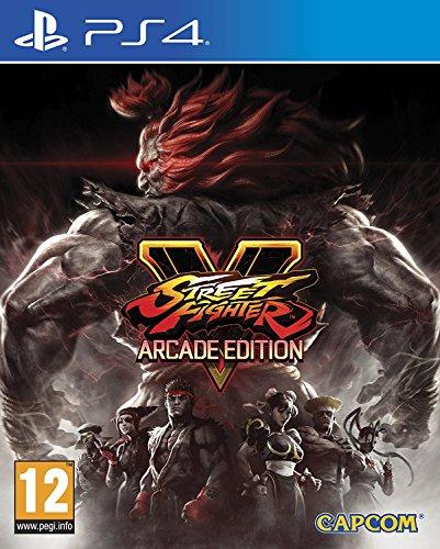 Street Fighter V Arcade Edition (PS4) UK IMPORT REGION FREE (Kombat X Mortal Edition Import)
