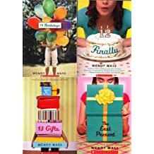 Wendy Mass Willow Falls Birthday Pack of 4 Books: 11 Birthdays / Finally / 13 Gifts / The Last Present