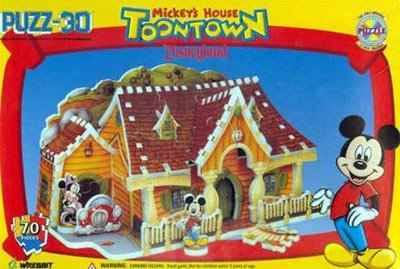 豪奢な puzz-3D puzz-3D ディズニーランド トゥーンタウン ミッキーの家 3D B006GY0DVA ジグソーパズル B006GY0DVA, ルチルクォーツ専門店:701333d2 --- quiltersinfo.yarnslave.com