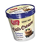 Perry's Ice Cream, Pint, Oats Cream, Blueberry Pancake - Pack of 8