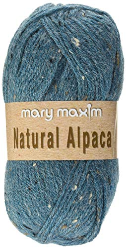 Mary Maxim Y083-302 Natural Alpaca Tweed Yarn (Cool Stream)