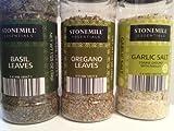 Three Pack - Basil, Oregano, & Garlic Salt