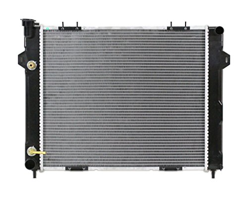 - Radiator - Pacific Best Inc For/Fit 2182 98 Jeep Grand Cherokee AT/MT 4.0L Plastic Tank Aluminum Core