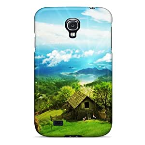 Protective Tpu Case With Fashion Design For Galaxy S4 (the Valley)