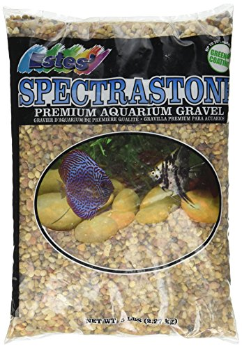 Spectrastone Shallow Creek Regular for Freshwater Aquariums, 5-Pound Bag (Creek Pebbles)