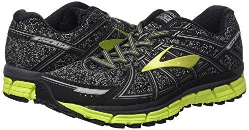 De charbon Gts Nightlife Hommes Brooks 17 Gris Adrenaline Noir Chaussures Gymnastique Mtallique q4XTw7