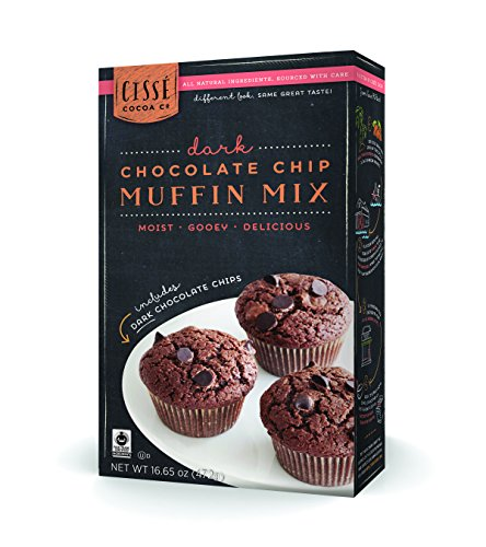 Cissé Double Chocolate Chip Muffin Mix, 16.65 oz.