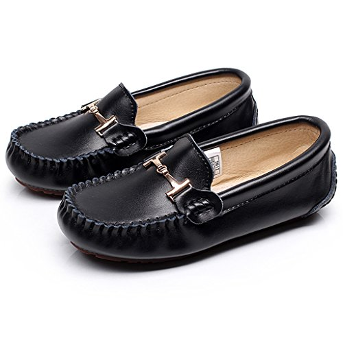 Womens Penny Shenn Driving On Loafers Slip Leather Dress Black PxdqBx