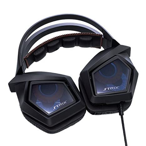 ASUS Strix 7.1 True 7.1 Surround Gaming Headset with USB Audio Station 8f670731f359