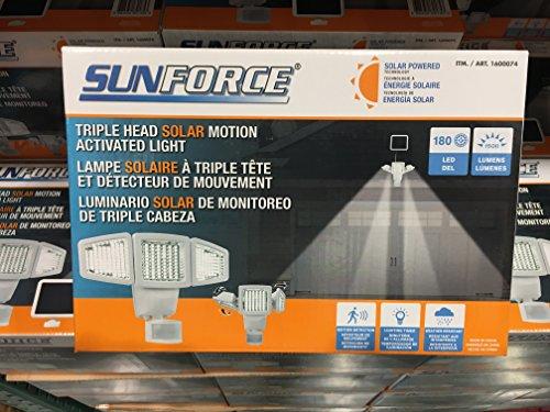 Sunforce Solar Motion Sensor Light - 8