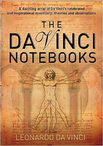 da vinci notebooks by leonardo da vinci 2005 paperback