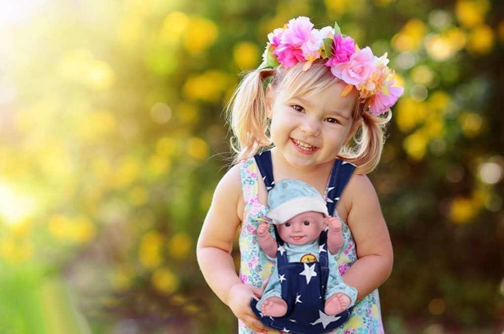 Yuccer Portabeb/és para Mu/ñecas Estrella Baby Doll Carrier Accesorios para Mu/ñecos Beb/é Bandoleras portabeb/é