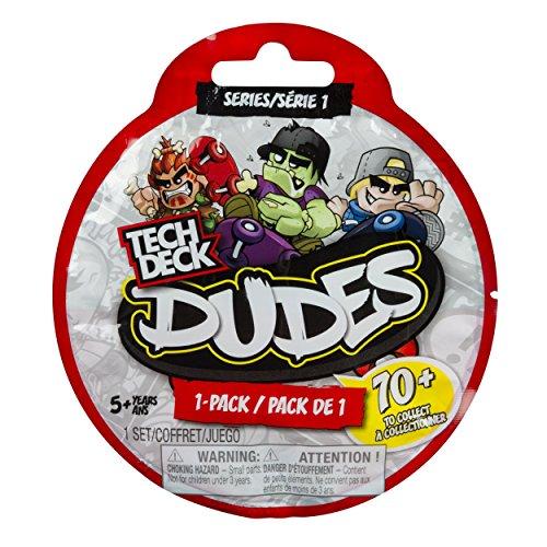 (Tech Deck Dudes Single Pack Series 1)