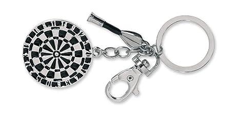 Llavero diseño Diana de Metal y dardo. con argolla. 1 Unidad ...
