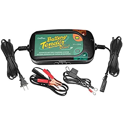 Battery Tender Plus Charger - 12 Volt High Efficiency/Black