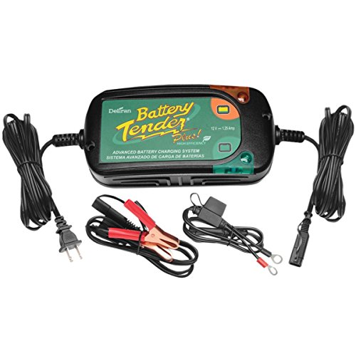 International Battery Tender - Battery Tender Plus Charger - 12 Volt High Efficiency/Black