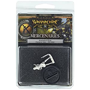 Privateer Press – Warmachine – Mercenary: Anastasia Di Bray Model Kit