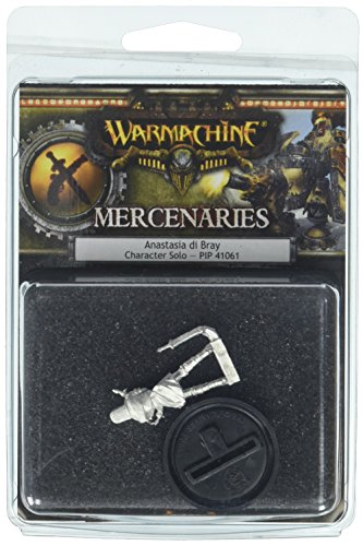 Privateer Press - Warmachine - Mercenary: Anastasia Di Bray Model Kit 3