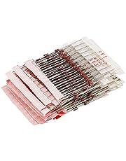 Kuinayouyi 1W (3V to 33V) 250 Pcs 25 Values 1W Zener Diode Assorted Kit Assortment Set