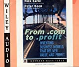 From .Com to .Profit, Nick Earle, Peter G. W. Keen, 1560159618