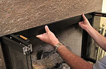 Amazon.com: HANG YOUR FIREPLACE SCREEN IN STYLE with Condar's ...