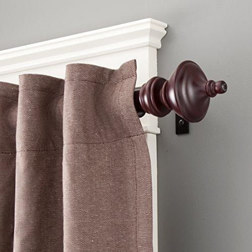 Wood Curtain Rods: Amazon.com