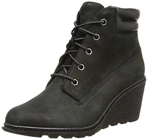 "Timberland Women's Earthkeepers  Amston 6"" Boot Black 6 B -"