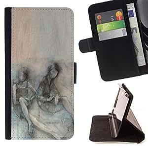 Momo Phone Case / Flip Funda de Cuero Case Cover - Somber Pareja Depresión trullo - Sony Xperia Z3 Compact
