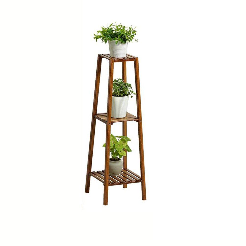 CJC Scaffali porta piante LY-337 può Essere Assemblato Multifunzione Multilayer Balcone Salotto al Coperto Fioriera Stand di Fiori Scaffale di Stoccaggio Garden & Outdoors (Dimensioni   002)