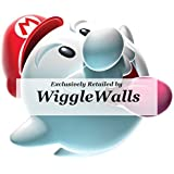 """3"""" Boo Super Mario Bros Galaxy 2 Wii Removable Wall Decal Sticker Art Nintendo Brothers Home Kids Room Decor - 3 by 2 1/2 inches"""