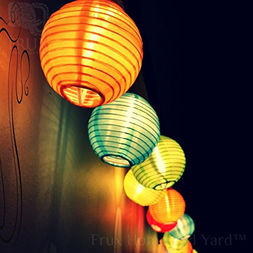 Long String Lights Indoor : 24 MULTI COLOR EXTRA LONG EXTENDABLE INDOOR OUTDOOR MINI NYLON STRING PATIO LIGHTS - 16ft ...