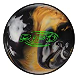 Hammer RIP'D Black/Gold/White Bowling Balls, Black/Gold/White, 15LBS