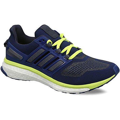 adidas Performance Men's Energy Boost 3 M Running Shoe, Unity Ink/White/Solar Yellow, 12 M US (Solar Boost)
