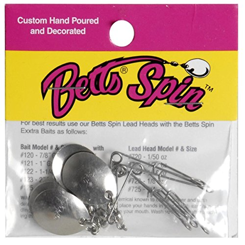 Betts 30 5 0N Jig Spinners 5 Pack product image