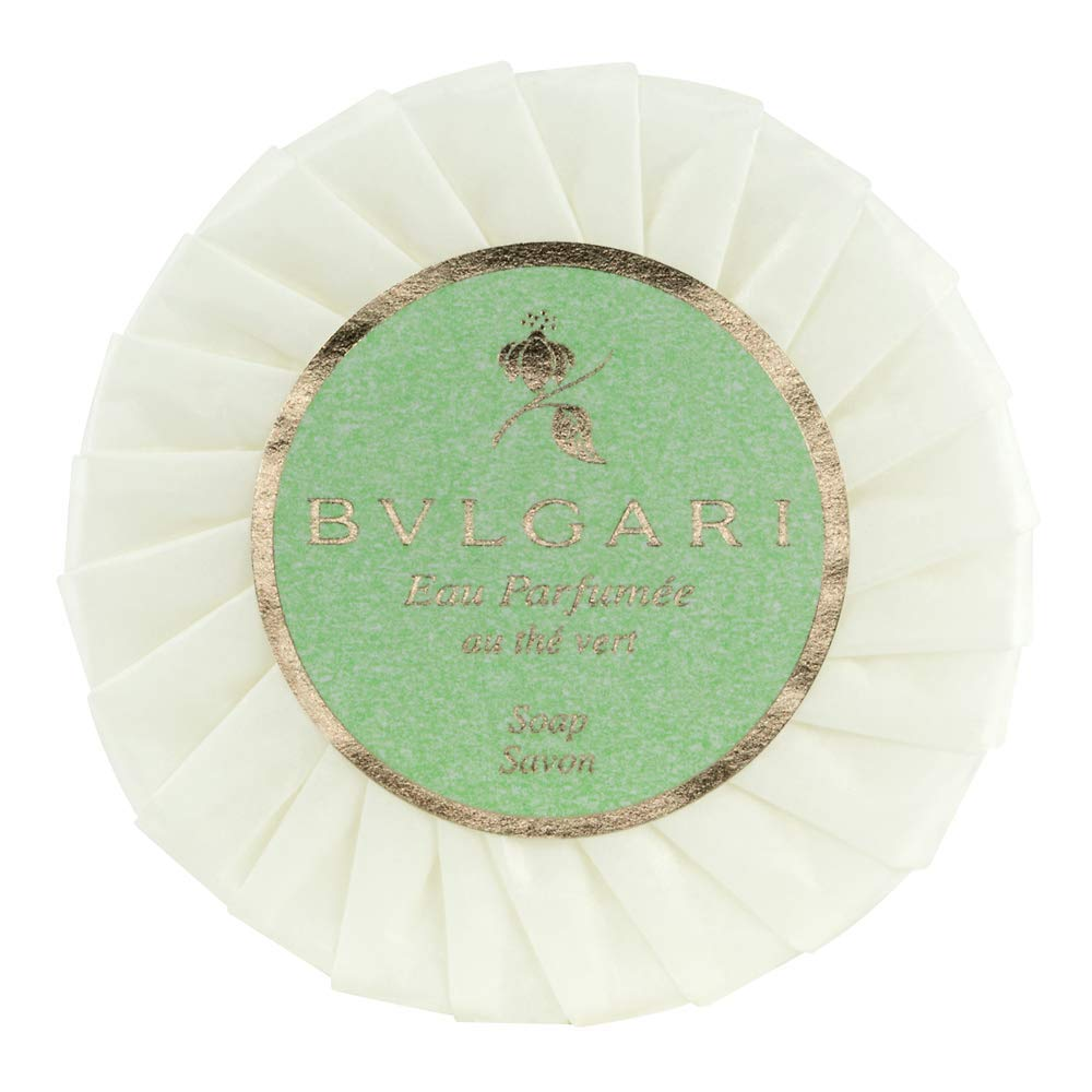 Bvlgari Au The Vert (Green Tea) 50 Gram Soaps - Set of 6
