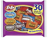 Hershey's All Time Greats Assortment (Kit Kat, Reese's, Almond Joy & Hershey's), 15.92-Ounce Bags (Pack of 3)