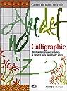 Calligraphie par Contreau