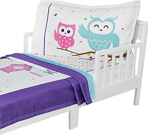 3pc RoomCraft Owl Always Love You Toddler Bedding Set Birds
