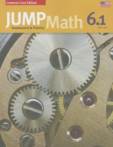 JUMP Math AP Book 6.1: US Common Core Edition