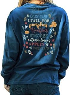 Felpa Donna Halloween Pullover Pullover Stampa Zucca Manica Lunga Top Camicetta Felpa Top S-XL
