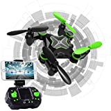 Hi-Tech 2.4GHz 6-Axis Gyro 0.3MP Camera RC Drone with Altitude Hold, 3D Flip, Headless Mode, One key