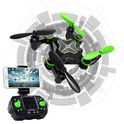 Hi-Tech 2.4GHz 6-Axis Gyro 0.3MP Camera RC Drone with Altitude Hold, 3D Flip, Headless Mode, One key Return Function for Beginner, Kids